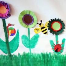 Papier Frühlingsblumen