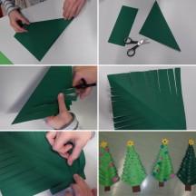 Papier-Weihnachtsbaum