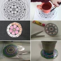 Mandala Tassenuntersetzer