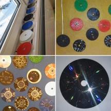CD Recycling Art