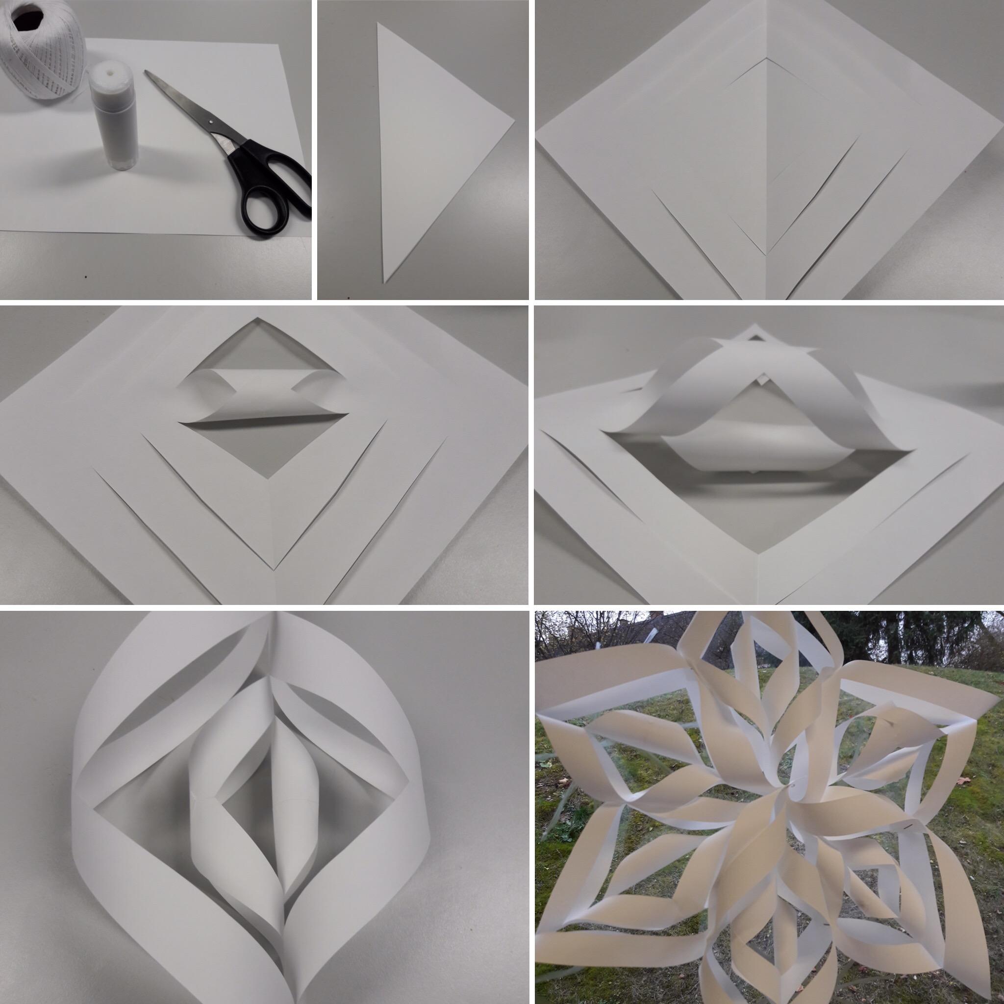 3D Schneeflocke
