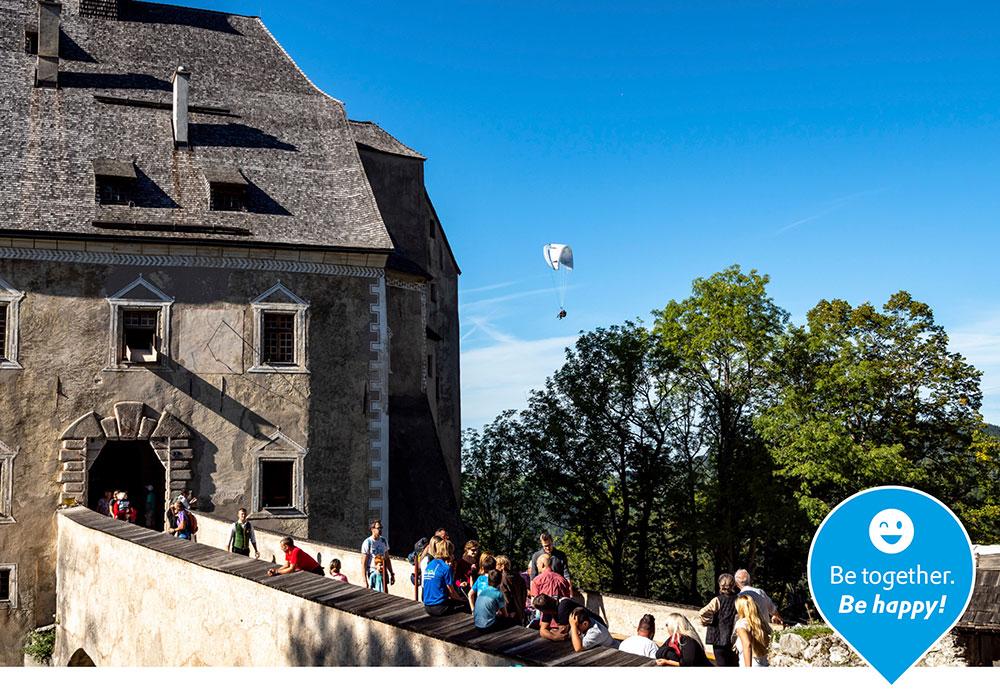 Ferien auf der Burg Altpernstein