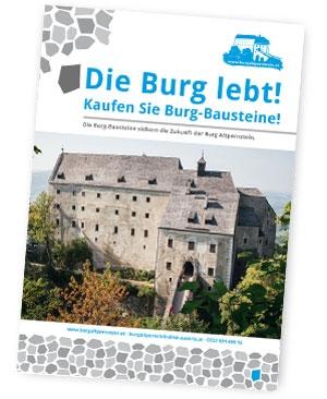 Burg-Bausteine Burg Altpernstein
