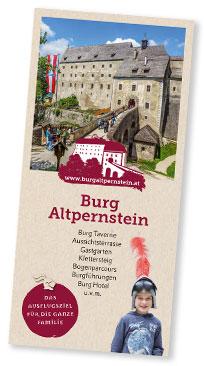 Ausflugsziel Burg Altpernstein