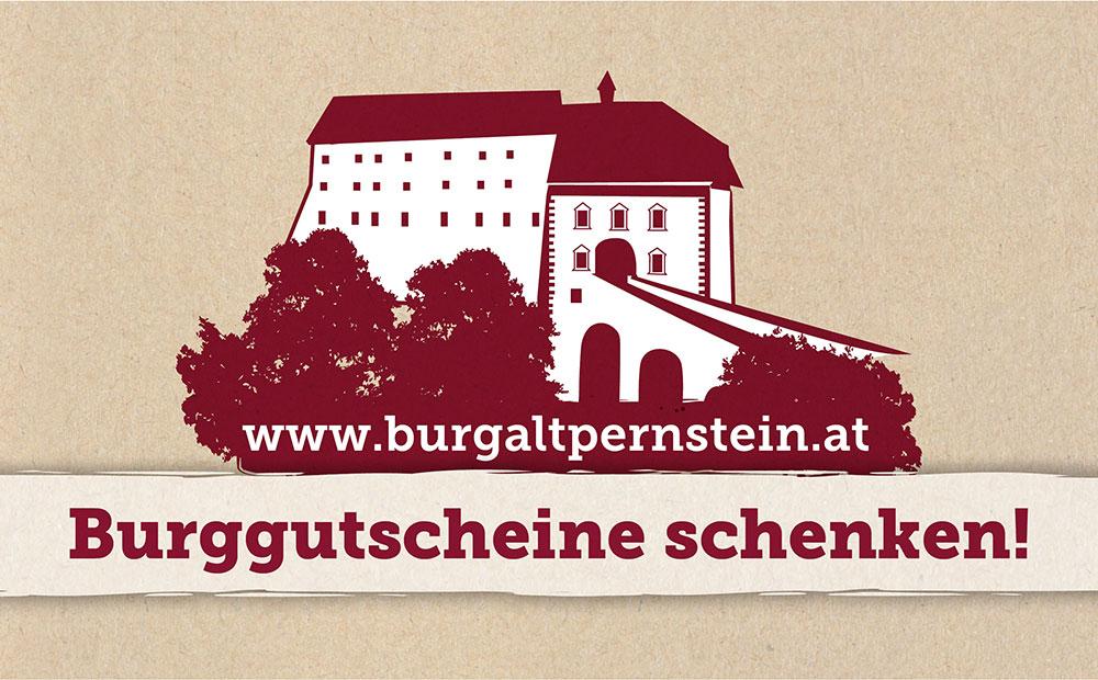 Burggutschein schenken Burg Altpernstein