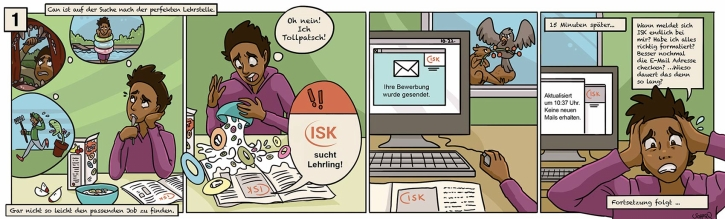 ISK Comicserie Can-Story